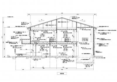 CAD 矩計図